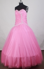 2012 Cheap Ball Gown Sweetheart Floor-Length Quinceanera Dresses Style JP42640