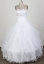 2012 New Ball Gown Sweetheart Neck Floor-Length Quinceanera Dresses Style JP42624