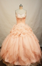 Beautiful Ball gown Sweetheart-neck Floor-length Quinceanera Dresses Style FA-W-222