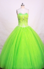 Beautiful Ball gown Sweetheart-neck Floor-length Quinceanera Dresses Style FA-W-241