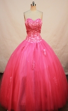 Beautiful Ball gown Sweetheart-neck Floor-length Quinceanera Dresses Style FA-W-272