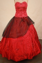 Beautiful Ball gown Sweetheart-neck Floor-length Quinceanera Dresses Style FA-W-321