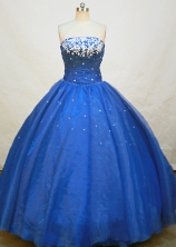 Brand new Ball gown Strapless Floor-length Quinceanera Dresses Style FA-W-253