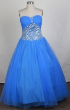 Cheap A-line Sweetheart Floor-length Quinceanera Dress ZQ12426044