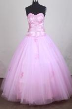 Cheap A-line Sweetheart Floor-length Quinceanera Dress ZQ12426047