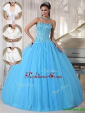Cheap  Beading Ball Gown Floor Length Quinceanera Dresses  PDZY690BFOR
