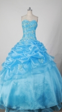 Discount Ball gown Sweetheart Floor-length Quinceanera Dresses Style FA-W-271