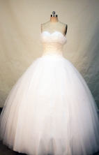 Elegant Ball gown Sweetheart-neck Floor-length Quinceanera Dresses Style FA-W-249