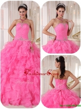 Exclusive Ball Gown Strapless Sweet 16 Gowns with Beading for 2016 PDZY724DFOR