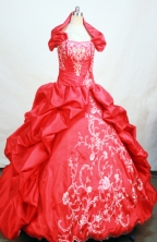 Gorgeous Ball gown Strapless Floor-length Quinceanera Dresses Style FA-W-239