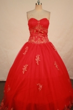 Perfect Ball gown Sweetheart-neck Floor-length Quinceanera Dresses Style FA-W-309