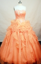 Popular Ball gown Strapless Floor-length Quinceanera Dresses Style FA-W-228