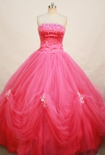 Popular Ball gown Strapless Floor-length Quinceanera Dresses Style FA-W-267