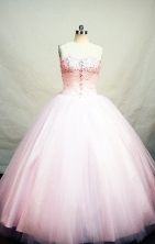 WinterLovely Ball gown Strapless Floor-length Quinceanera Dresses Style FA-W-236