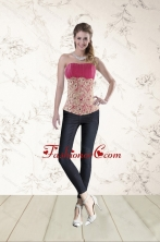 Perfect Beading Corset in Hot Pink XFNAO501TZDFOR