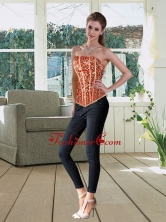 The Most Popular Strapless Multi Color Corset with Beading QDZY251TZDFOR