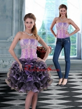 2015 Detachable Strapless Prom Skirts with Appliques and Ruffles XFNAO5744TZB1FOR