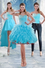 2015 Detachable Sweetheart Prom Skirts with Appliques and Ruffles XFNAO011TZB1FOR