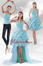 Detachable Sweetheart 2015 Prom  Skirts with Beading and Ruffled Layers XFNAO158TZB1FOR