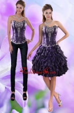 Detachable Sweetheart 2015 Prom Skirts with Appliques and Ruffles XFNAO020TZB1FOR