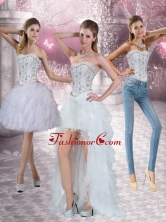 New Style Strapless Detachable Prom Skirts with Ruffles and Beading QDZY152TZB1FOR