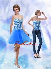 2015 Detachable Short Royal Blue Prom Dresses with Embroidery SJQDDT32004FOR