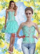 Elegant Short Sweetheart Prom Dresses with Beading for Cocktail SJQDDT54004FOR