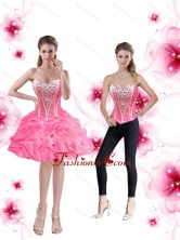 Inexpensive Ball Gown Prom Dresses with Pick Ups and Beading for Cocktail SJQDDT48004FOR