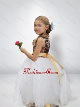 Lovely Ball Gown Camo Flower Girl Dresses with Bowknot CMLD002FOR