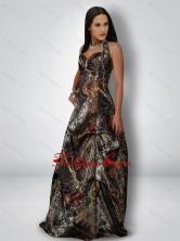Delicate A Line Halter Top Camo Prom Dresses in Multi Color CMPD069FOR