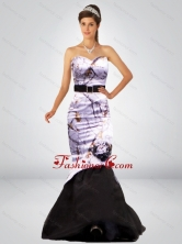 Sexy Mermaid Camo Prom Dresses with Hand Made Flower and Sashes CMPD054FOR