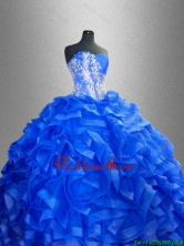 2016 Beaded Sweetheart Luxurious Quinceanera Gowns with Ruffles SWQD038-3FOR