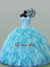 Elegant Beading Sweetheart Quinceanera Dresses for 2015 Fall SWQD015FOR