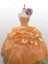 2016 Summer New Style Quinceanera Dresses with Paillette and Ruffled Layers SWQD010-1FOR