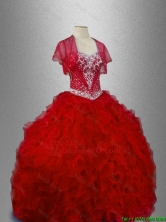 Ball Gown New Arrivals Sweet 16 Dresses with Ruffles SWQD026-4FOR