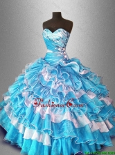 Ball Gown Popular Sweet 16 Dresses with Beading and Ruffles SWQD028-2FOR
