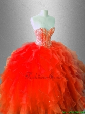 Fall Beautiful Sweetheart Quinceanera Gowns with Beading SWQD036-1FOR