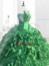 New Arrivals Sequins and Ruffles Quinceanera Dresses with Pick Ups SWQD073-1FOR