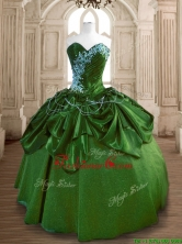 New Style Big Puffy Quinceanera Dress with Beading and Ruffles SWQD170-2FOR