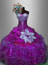 New Style Sweetheart Quinceanera Gowns with Sequins SWQD031-1FOR