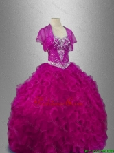 Ruffles Sweetheart New Style Quinceanera Dresses with Beading SWQD026-3FOR