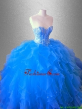 Ruffles and Beaed Classical Quinceanera Dresses with Sweetheart SWQD036-4FOR