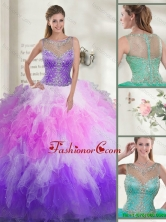 2016 Gorgeous Beaded Quinceanera Dresses with Ruffles SJQDDT117002A-2FOR