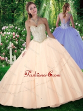 2016 New Style Puffy Sweetheart Beading Quinceanera Gowns SJQDDT288002FOR