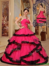 Beautiful Ball Gown Strapless Beading Quinceanera Dresses for 2016 QDZY391AFOR