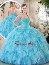 Cheap Sweetheart Beading Quinceanera Dresses for 2016 SJQDDT242002-1FO