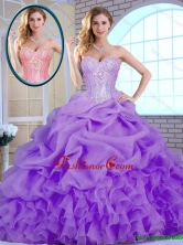 Classical Beading and Ruffles Quinceanera Gowns in Lavender SJQDDT156002-1FOR