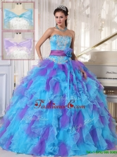 Classical Strapless Beading and Appliques Quinceanera Gowns  PDZY471CFOR