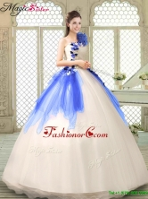 Exclusive Ball Gown Appliques Quinceanera Gowns in Multi Color YCQD011-4FOR