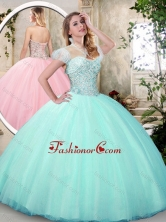 Fashionable Sweetheart Quinceanera Dresses with Beading SJQDDT221002-1FOR
